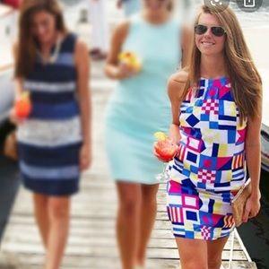 Vineyard Vines Nautical Flag Sleeveless Dress